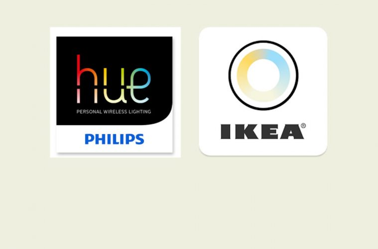 philip 39 s hue and ikea 39 s tr dfri working together news smart home geeks. Black Bedroom Furniture Sets. Home Design Ideas