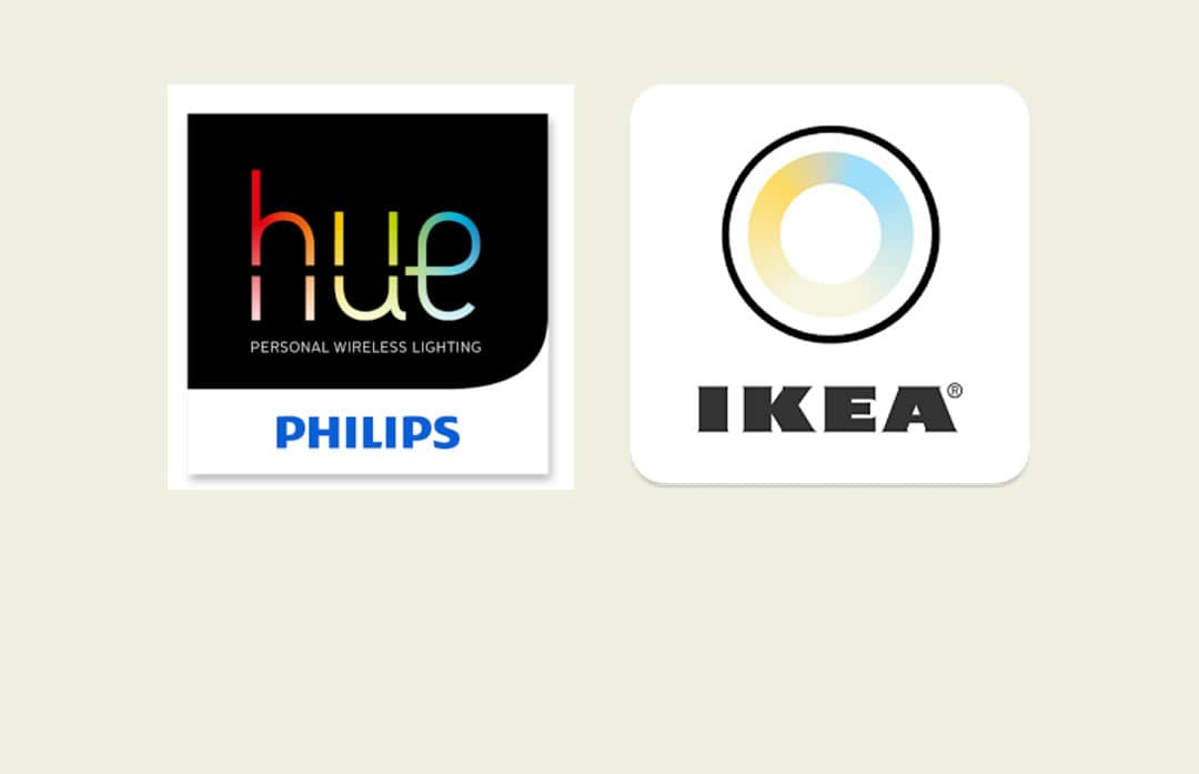 philip 39 s hue and ikea 39 s tr dfri working together ikea news philips smart home geeks. Black Bedroom Furniture Sets. Home Design Ideas