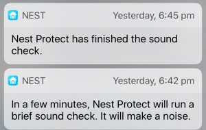 Nest Protect testing