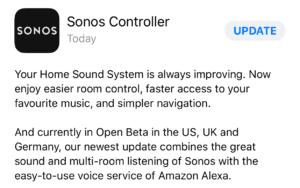 Sonos Alexa Setup