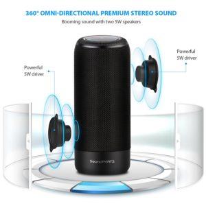 SoundPEATS Bluetooth wireless Speaker P4 Review