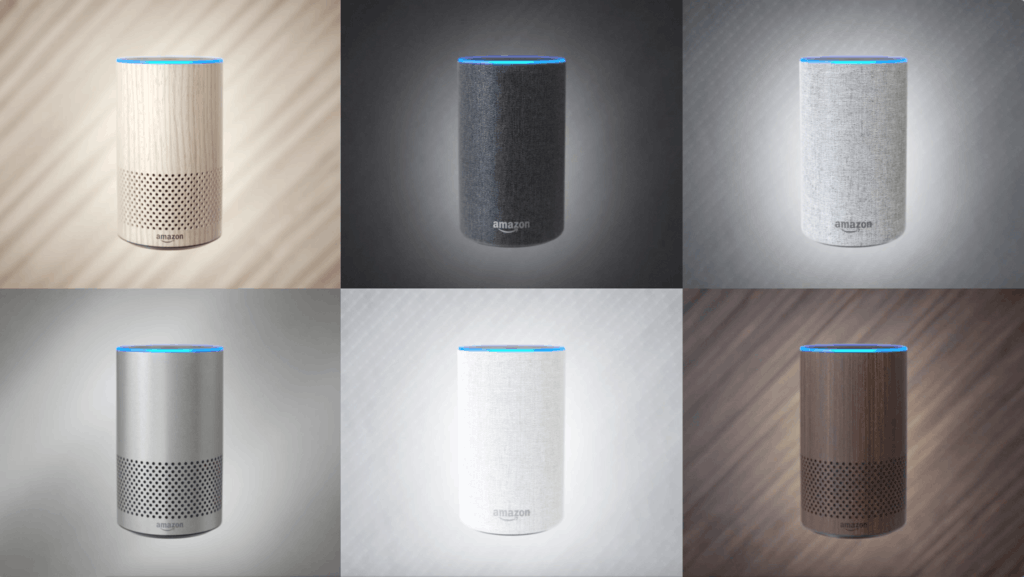 Amazon Echo Colours UK