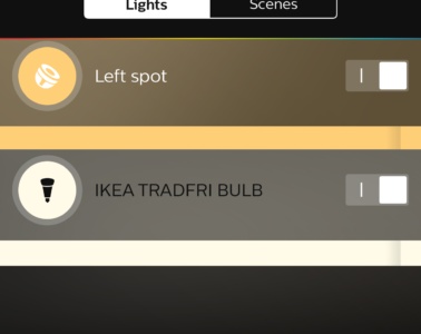 IKEA Trådfri added philips hue guide