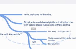 Storyline alexa skill