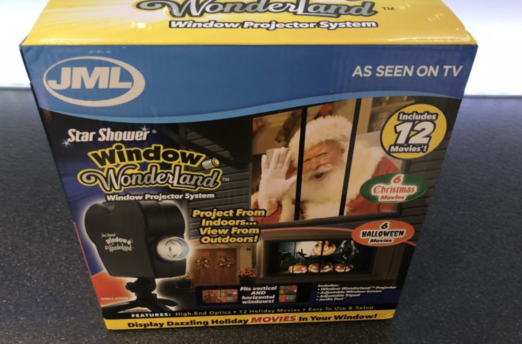 JML STAR SHOWER WINDOW WONDERLAND REVIEW