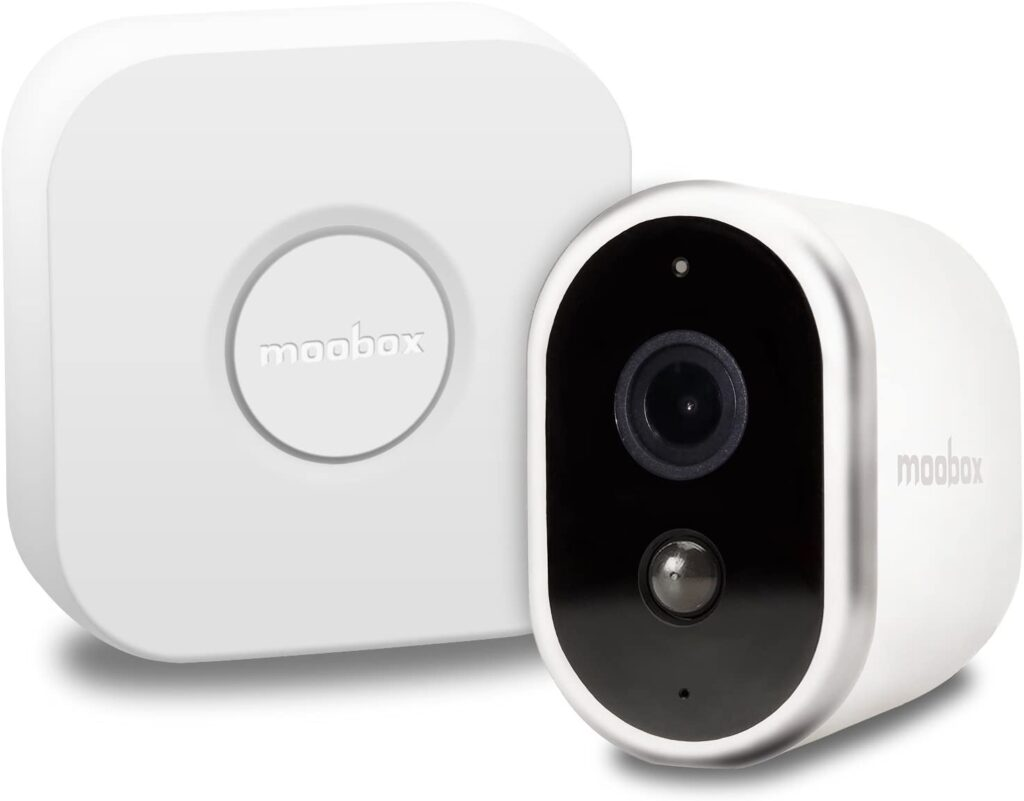 Moobox Pro Wire-Free 1080p Hd Home Security Camera System