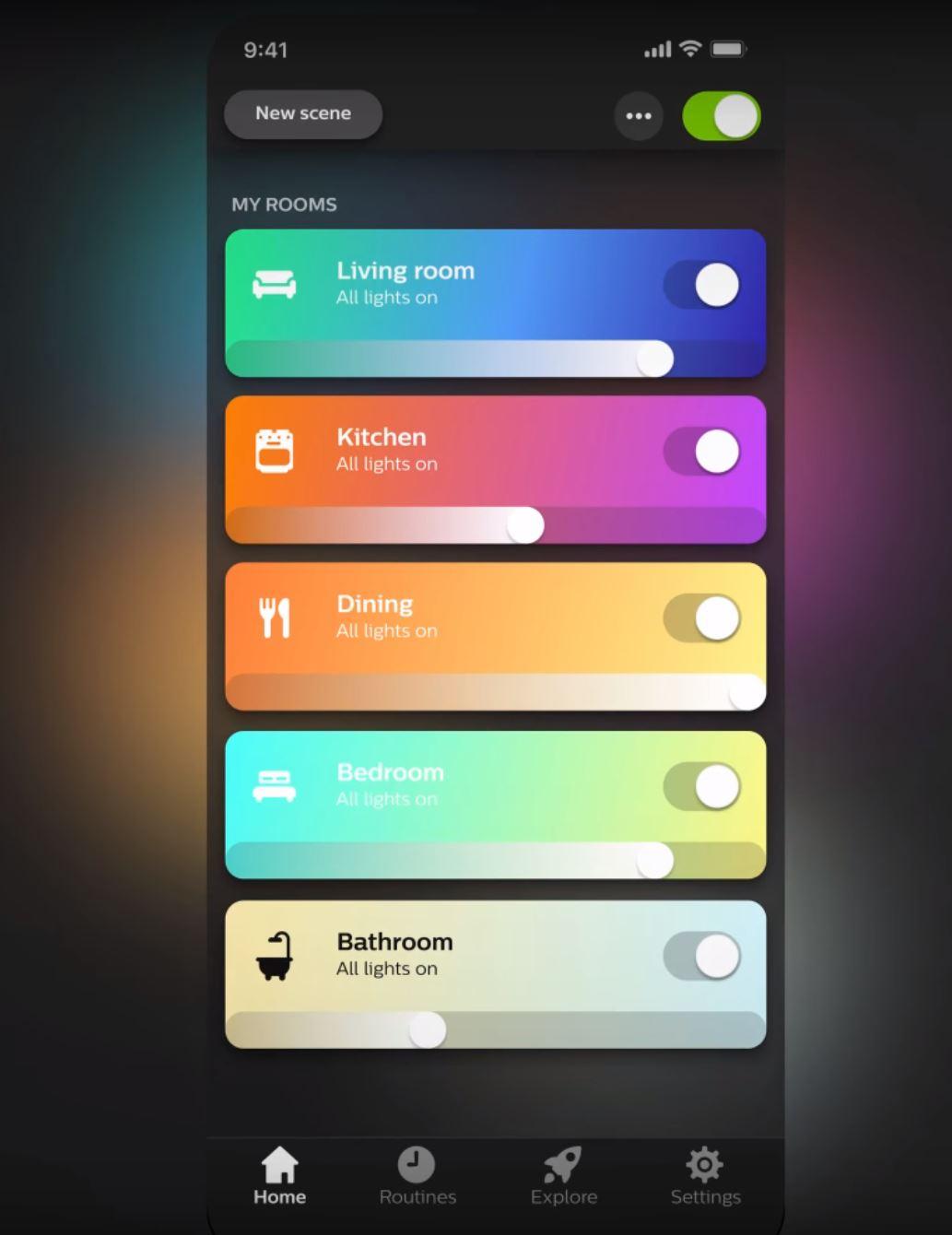 Philips Hue app 3.0!