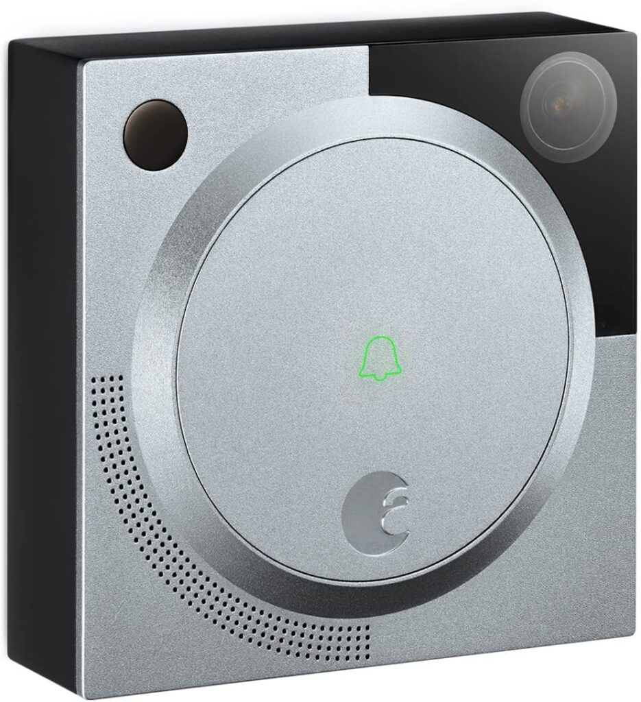 August Home AB-R1 Silver August Doorbell