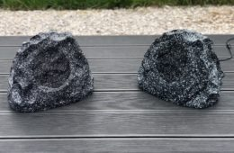 Lithe Audio garden rock speakers review