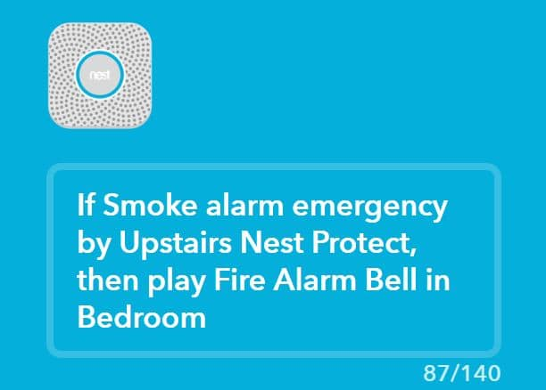 Connect Sonos and Nest Protect