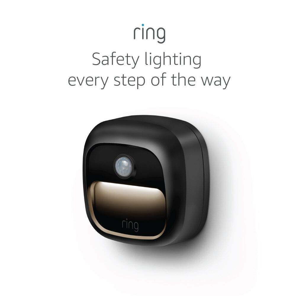 Ring Smart Lighting – Steplight, Battery-Powered, Outdoor Motion-Sensor Security Light